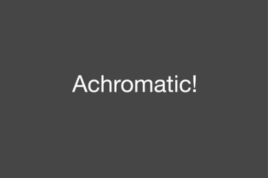 Performing Sound #15: Achromatic!  /