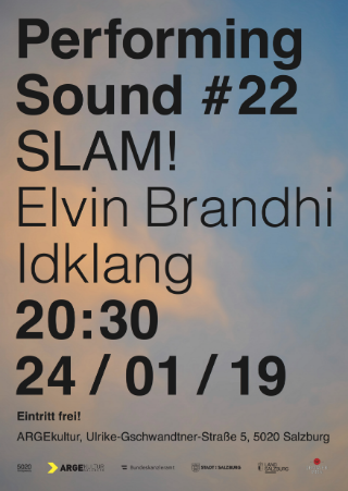 / PERFORMING SOUND #22: SLAM!