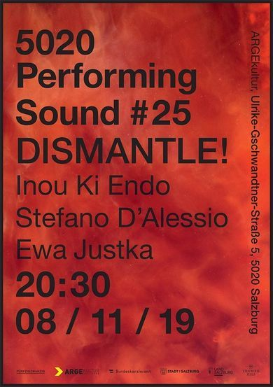 PERFORMING SOUND #25 DISMANTLE! /